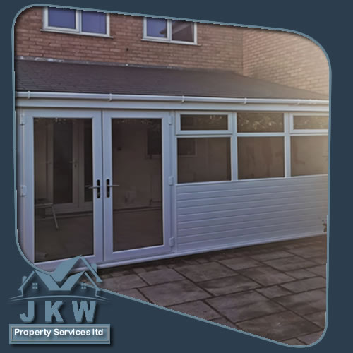 Low Cost Conservatory Roof in Ellesmere Port