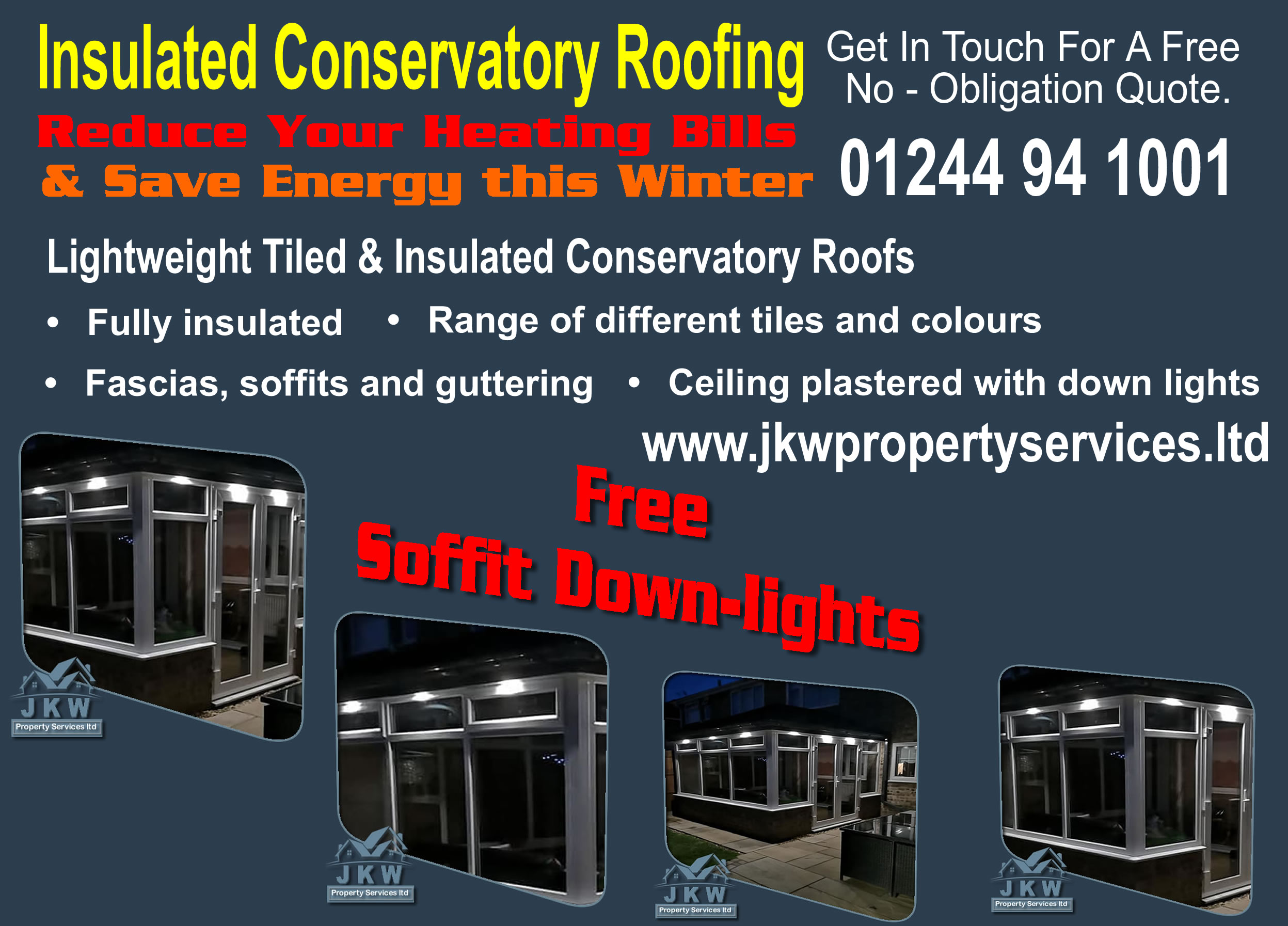 Low Cost Warm Conservatory Roofing in Ellesmere Port