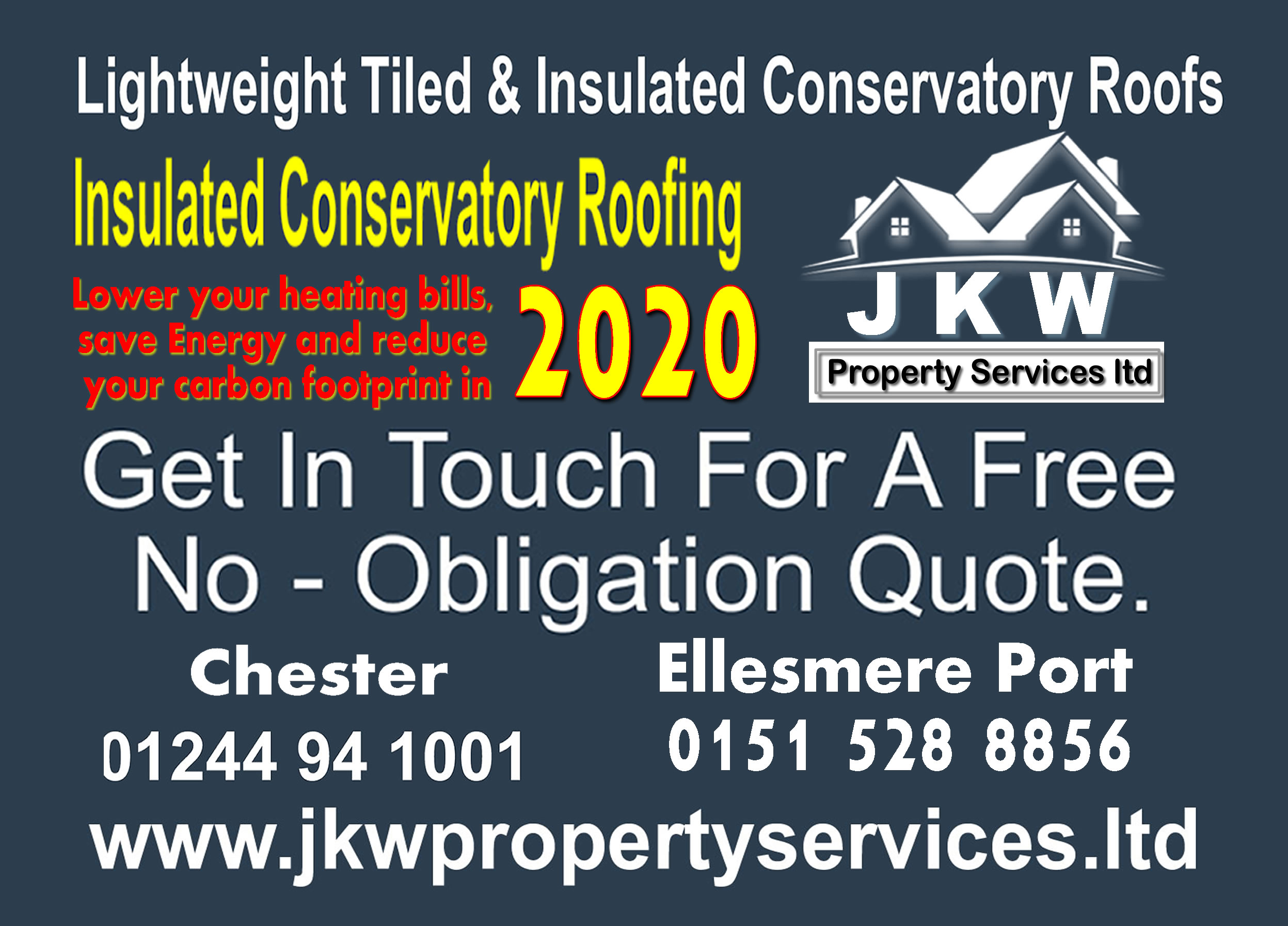 New Conservatory Roof Conversions in Ellesmere Port