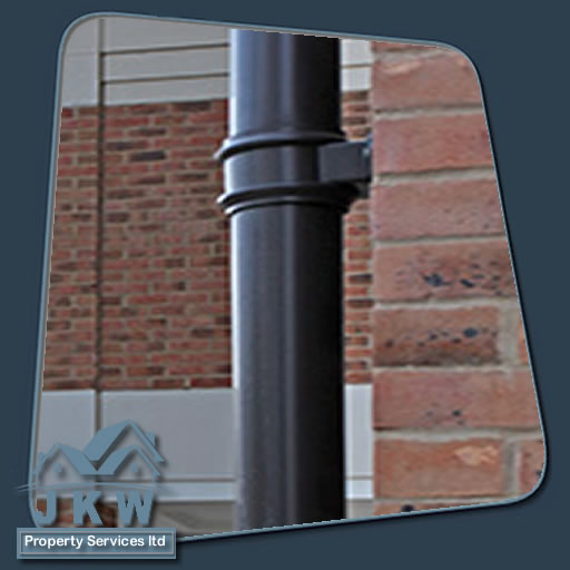 New Down Pipes in Ellesmere Port