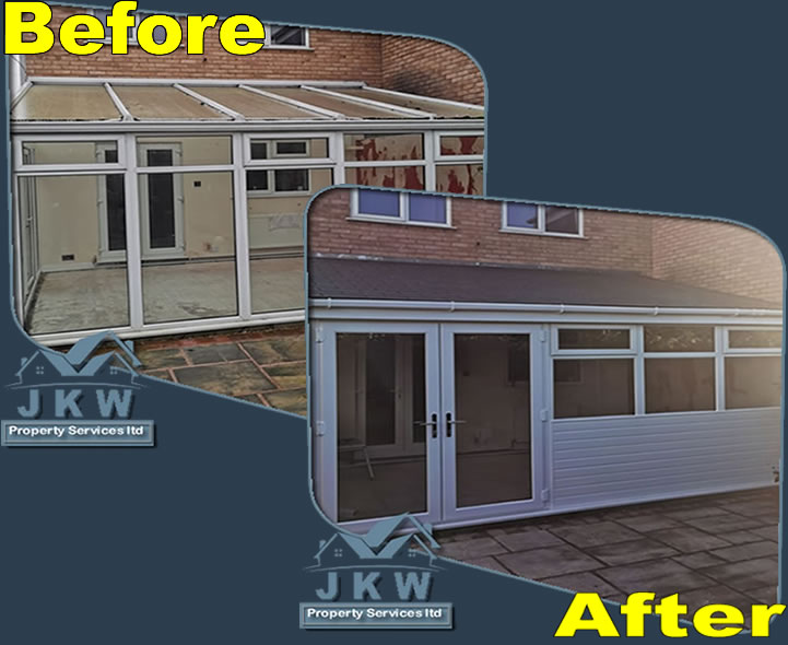 Ellesmere Port Low Cost Roof Converted